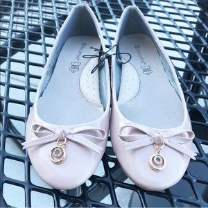 Ballet Flats With Genuine Leather Insoles